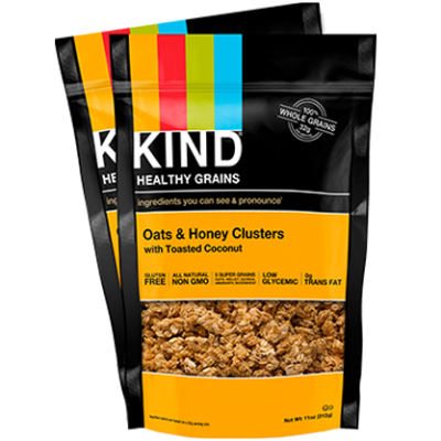Granola, Oats & Honey Clusters with Toasted Coconut