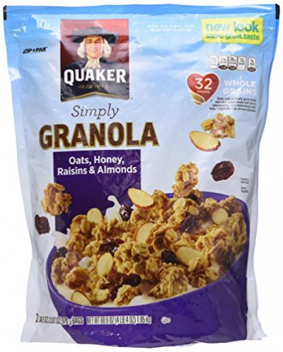 Natural Granola, Oats, Honey & Almonds
