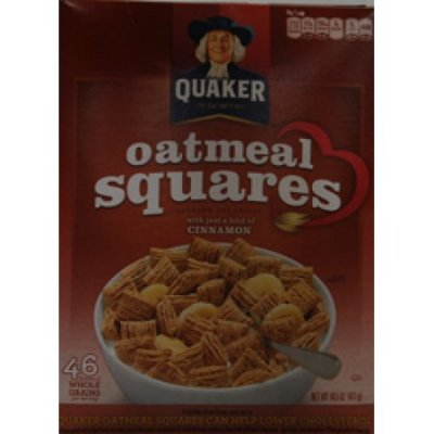 Oatmeal Squares With A Hint Of Cinnamon Cereal