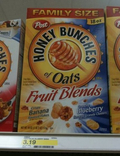 Oats & Honey Blend, Family Size