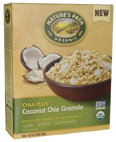 Organic Coconut And Chia Granola