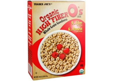 Organic High Fiber Whole Grain Goodness, Cereal