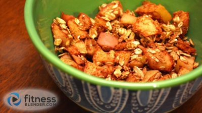 Apple Cinnamon Toasted Oats Cereal