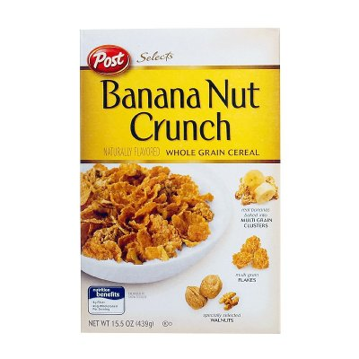Banana Nut Crunch Whole Grain Cereal