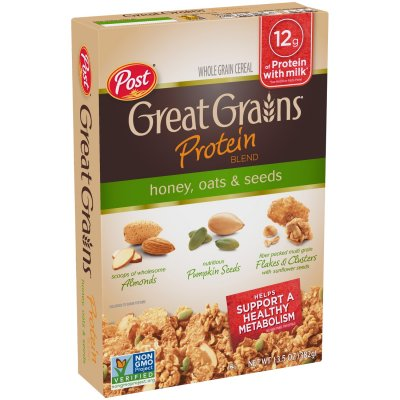 Honey Oat Clusters Multi Grain Cereal