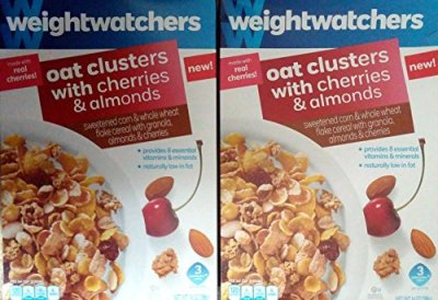 Oat Clusters With Almonds, Sweetened Corn & Whole Wheat Flake Cereal With Granola & Sliced Almonds