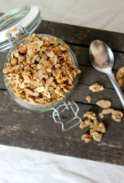 Organic Granola Vanilla & Almonds, Naturally Flavored