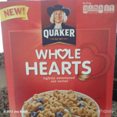 Cereal Made with Whole Grain Quaker Oats