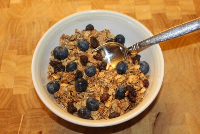 Cereal, Natural Granola, with Raisins