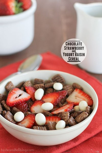 Chocolate Strawberry Cereal
