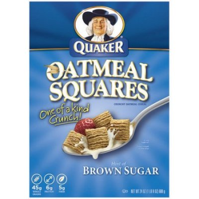 Crunchy Oat Cereal With Brown Sugar Oat Squares