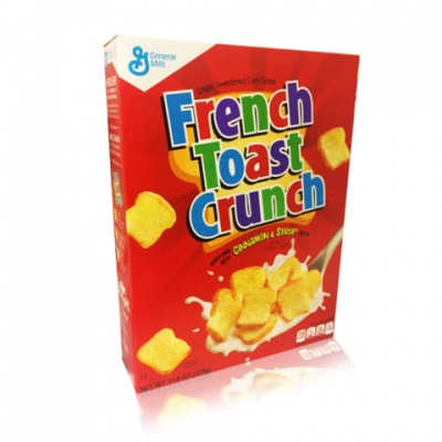 French Toast Crunch, Sweetened With Cinnamon & Syrup, Cereal