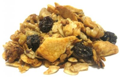Organic Raisin Granola Lightly Sweetened, Mid Of Toasted Whole Grain Oats, Crisp Brown Rice, Sweet Raisins & Crunchy Almonds