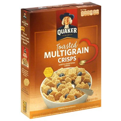 Toated Multi-Grain Cereal with Honey Oat Clusters
