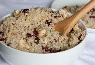 Canberry Cashew Quinoa Cluster