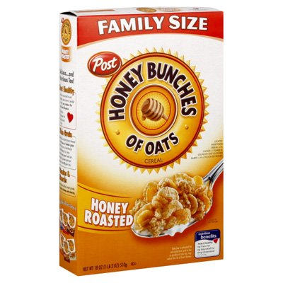 Cereal, Honey Roasted, Family Size