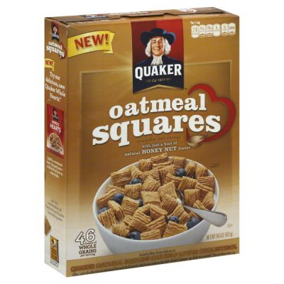 Cereal, Oatmeal Squares