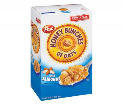 Cereal, with Almonds, Double Pack