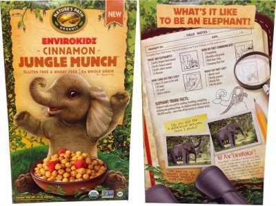 Cinnamon Jungle Munch, Cereal