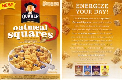 Honey Nut Squares Cereal
