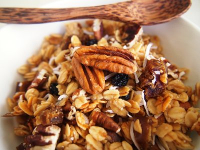 Muesli With Dates, Raisins & Almonds Cereal