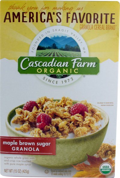 Organic Maple Brown Sugar Granola