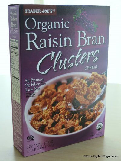 Organic Raisin Bran Cereal