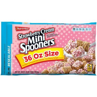 Strawberry Mini Spooners Cereal
