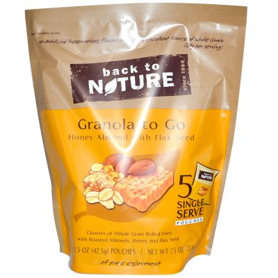 To Go Pouches, Oats And Honey Granola