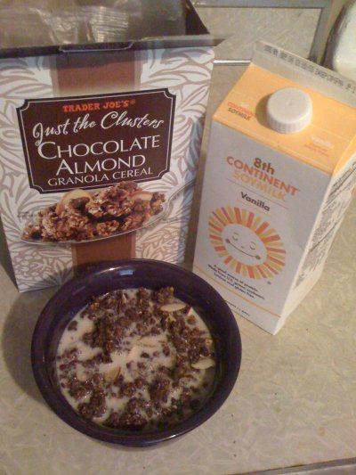 Chocolate Almond Granola Cereal