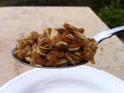 Honey & Oats Granola With Almonds