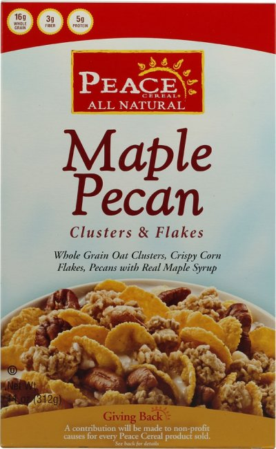 Maple Pecan Flakes & Clusters Cereal