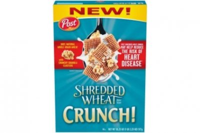 Shredded Wheat Crunch, 100% Natural Whole Grain Wheat With Crunchy Granola Clusters