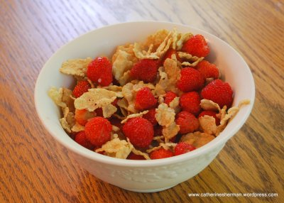 Strawberries Cereal