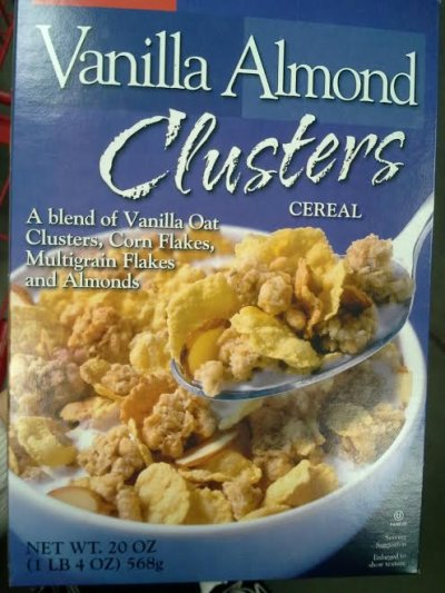 Vanilla Almond Clusters Cereal