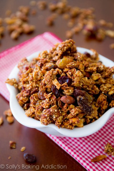 Apple Cinnamon Crunchy Granola