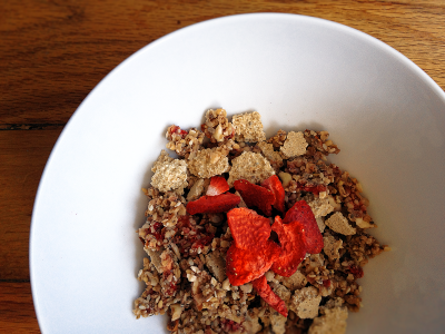Cereal, Strawberry & Oats