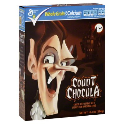 Count Chocula, Cereal, Chocolatey, with Spooky-Fun Marshmallows