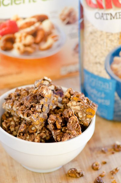 Cranberry Almond Clusters Cereal