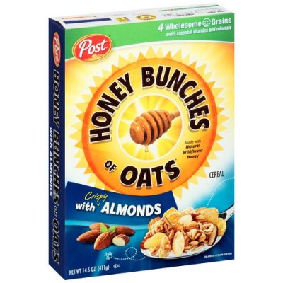 Crunchy Honey Oats With Almonds, Cereal
