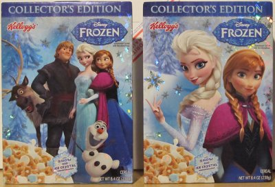 Disney Frozen, Collector's Edition, Cereal