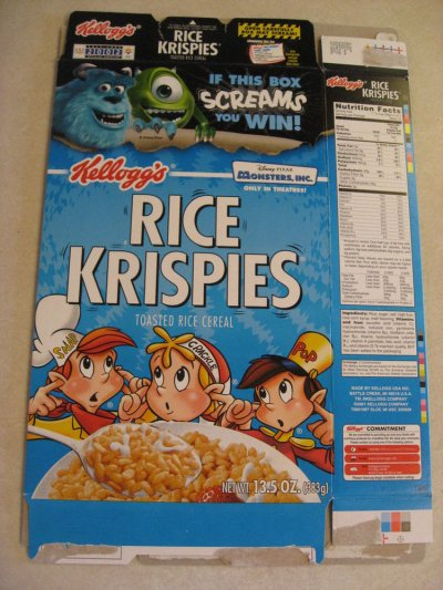 Frosted Krispies, Sweetened Toasted Rice Cereal