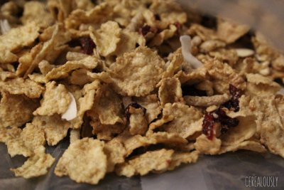 Nourish Coconut Cranberry Almond, Multi Grain Flakes With Quinoa