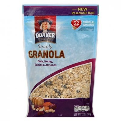 Simply Granola, Oat, Honey, Raisins And  Almonds