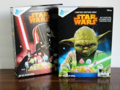 Star Wars, Fruity Flavored Cereal