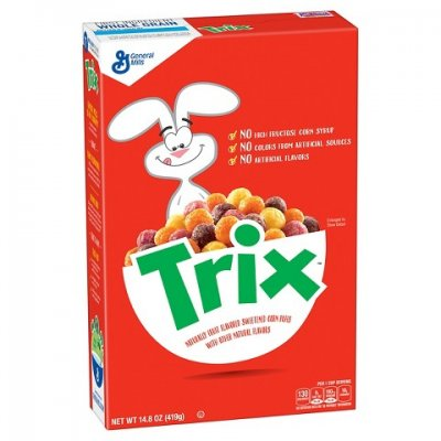 Trix, Wildberry Red Swirls, Cereal