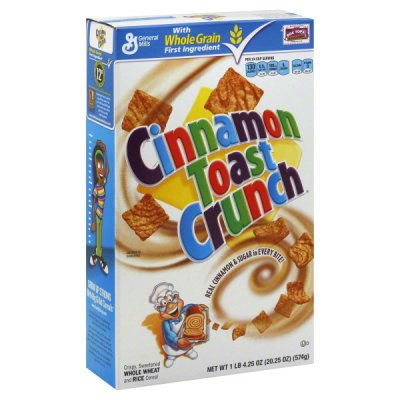 Cereal, Cinnamon Toasters