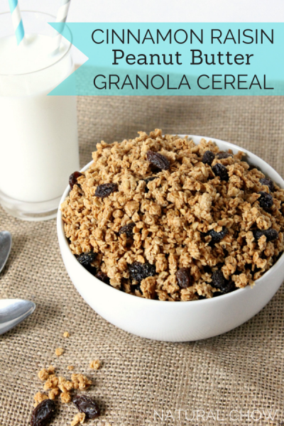 Cinnamon Raisin Crunch, Granola, Cereal