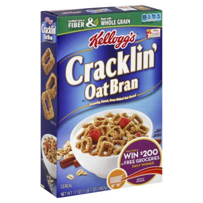 Cracklin' Oat Bran, Made With Whole Grain