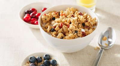 Crisp Berry Crunch Cereal